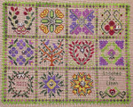 Baltimore Garden Quilt 12 Charm Pack 2011 Handblessings
