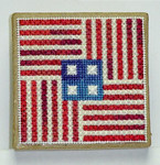 Americana Ort Box – Needlepoint with Ort box Handblessings Pattern Only
