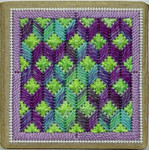 Lime Rickey Ort Box – Needlepoint with box Handblessings Pattern Only