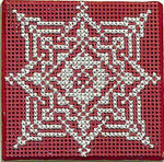 Lace Snowflake Ort Box – Cross Stitch with box Handblessings Pattern Only