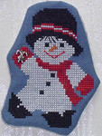 Dancing Snowman with 1 charm included Handblessings
