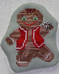 Dancing Gingerbread Man with 1 charm included Handblessings