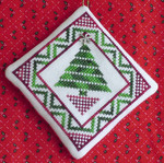 Christmas Tree Quilt with 1 charm included Handblessings