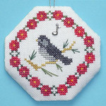Chickadee with 1 charm Handblessings