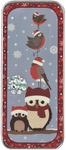 NST12 Winter Birds Needle Slide Just Nan Designs