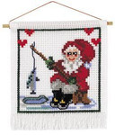 137220 Permin Santa Fishing