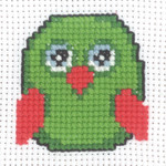 145332 Permin Green Owl - My First Kit