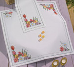271354 Permin Spring Flowers Tablecloth