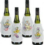 783875 Permin Easter Circus  Bottle Aprons