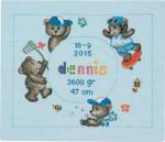 904309 Permin Teddybear Dennis