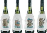784107 Permin Teddys - Blue Bottle Aprons