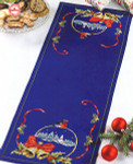 680220 Permin Table Runner - Bells & Ribbons