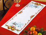 680225 Permin Christmas Tablerunner