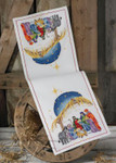 684258 Permin Nativity  Table Runner