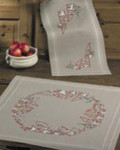 633640 Permin Christmas Time  Natural Table Runner  (top)