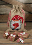 904259 Permin Elf with Heart - Gift Bag