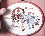 126824 Permin Birth Announcement  Girl