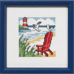 145190 Permin Red Beach Chair