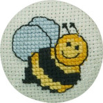 022190 Permin Bee Badge