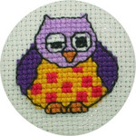 022191 Permin Owl Badge