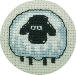 022195 Permin Sheep Front Badge
