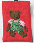 191695 Permin Teddy Bear Phone Case