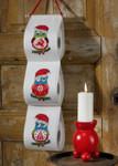 414209 Permin Christmas Owl Bellpull
