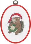 925649 Permin Hedgehog with Wreath