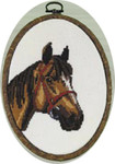 128491 Permin Horse - Light Brown