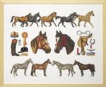 708490 Permin Horse Homage