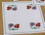 109370 Permin Flower Tablecloth