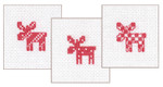 014261 Permin Christmas Giftcards  (3 designs)