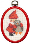 135279 Permin Elf & Owl