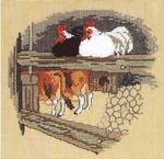 121300 Permin Chickens & Cows