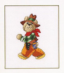 121498 Permin Teddy Bear Cowboy