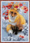 RL1510 Riolis Cross Stitch Kit Fox
