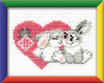 RLHB16 Riolis Cross Stitch Kit You Are My Sweetheart - Happy Bee