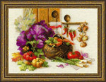 RL1544 Riolis Cross Stitch Kit Rich Harvest
