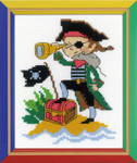 RLHB164 Riolis Cross Stitch Kit Brave Pirate
