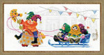 RL1519 Riolis Cross Stitch Kit Petrushka