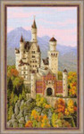 RL1520 Riolis Cross Stitch Kit Neuschwanstein Castle