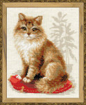 RL1525 Riolis Cross Stitch Kit Pet Cat
