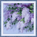 RL1533 Riolis Cross Stitch Kit Lilacs After the Rain