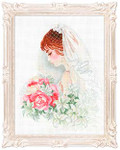 RL100050 Riolis Cross Stitch Kit Bride