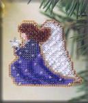 H107 Mill Hill Seasonal Ornament Kit Starlight Angel (2002)