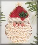 H115 Mill Hill Curly Ho Ho (2004) Seasonal Ornament Kit