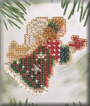 H117 Mill Hill Seasonal Ornament Kit Christmas Angel (2004)