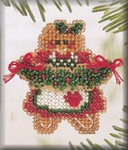 H119 Mill Hill Ginger Cookie (2004) Seasonal Ornament Kit