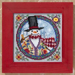 JS149103 Mill Hill Eastern Snowman by Jim Shore (2009)