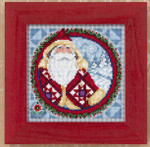 JS149203 Mill Hill Kris Kringle by Jim Shore (2009)